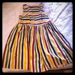 Collectif ModCloth Whimsical Weekend Striped Dress